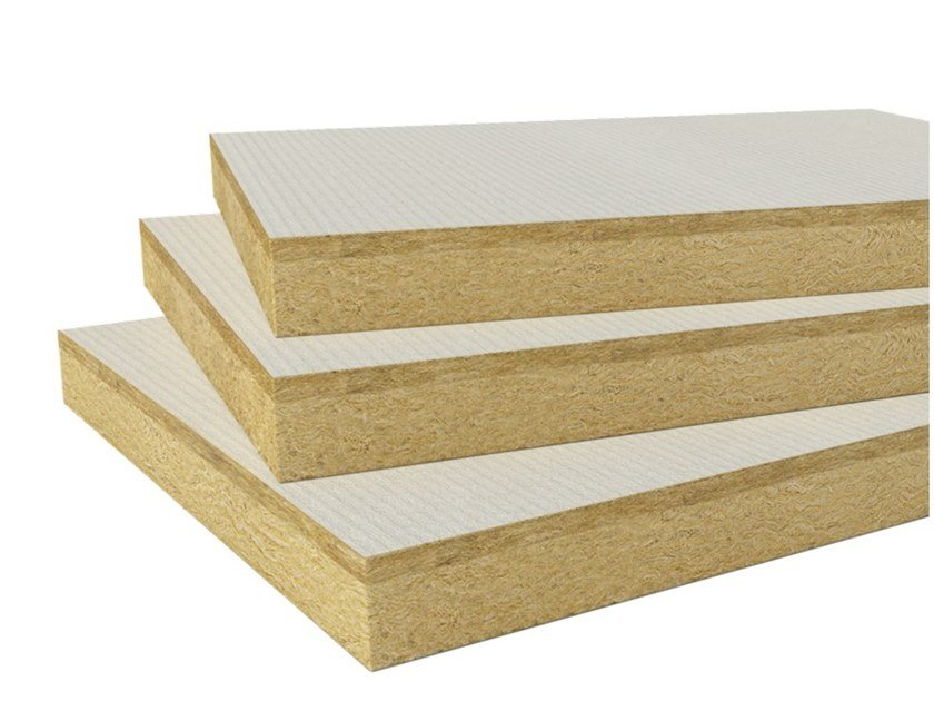 Rock wool Thermal insulation panel CEILINGROCK TOP by ROCKWOOL ITALIA