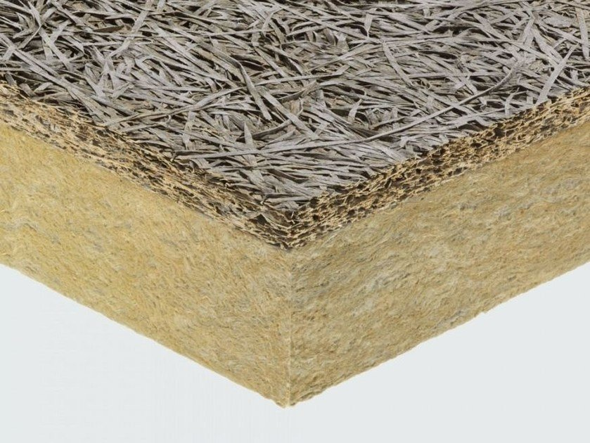 Thermal insulation panel / sound insulation panel CELENIT L2/C by celenit