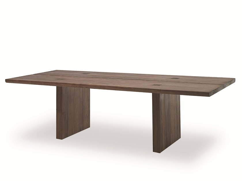 Rectangular solid wood table CELERINA | Table by Riva 1920