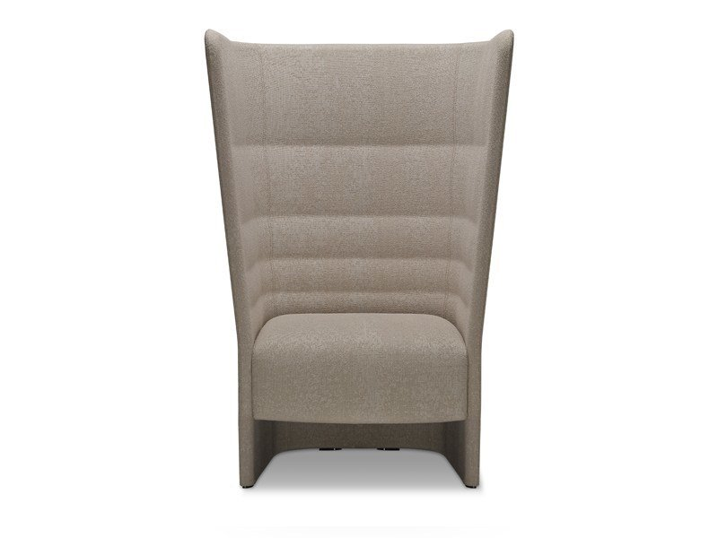 High-back guest chair CELL 128 | High-back armchair by SitLand