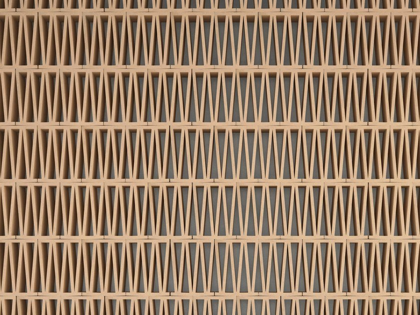 Terracotta room divider CELOSIA by MUTINA