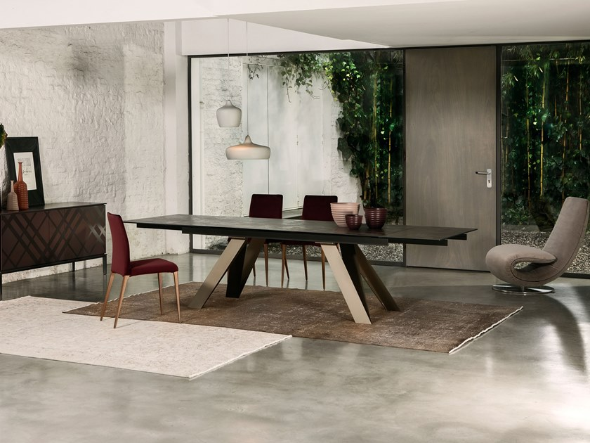 Rectangular table CELTIS by Tonin Casa