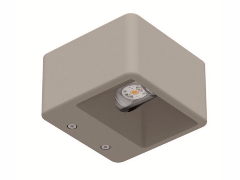 LED cement wall lamp CEM_W1 by Linea Light Group
