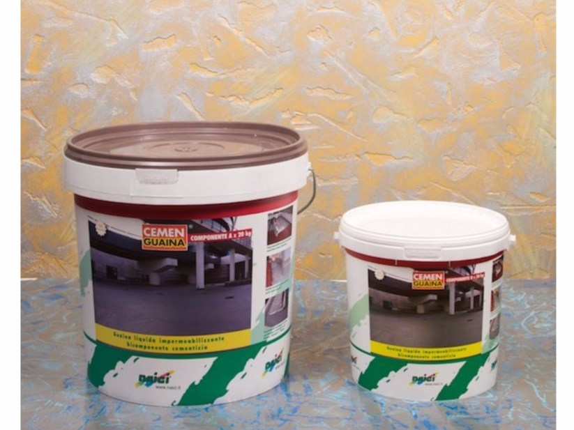 Cement-based waterproofing product CEMENGUAINA by NAICI ITALIA