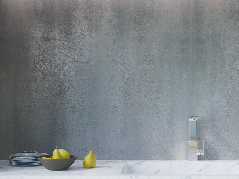 Decorative laminate with concrete effect CEMENT by L'ANTIC COLONIAL