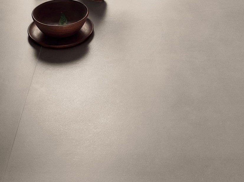 Laminated stoneware wall/floor tiles with concrete effect CEMENT PROJECT - COLOR-10 CEM by COTTO D'ESTE