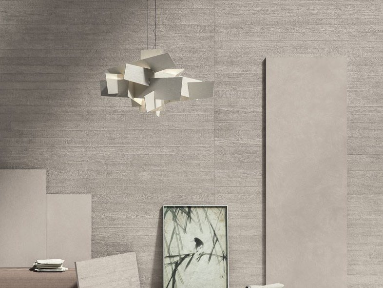 Laminated stoneware wall/floor tiles with concrete effect CEMENT PROJECT - COLOR-10 LAND by COTTO D'ESTE