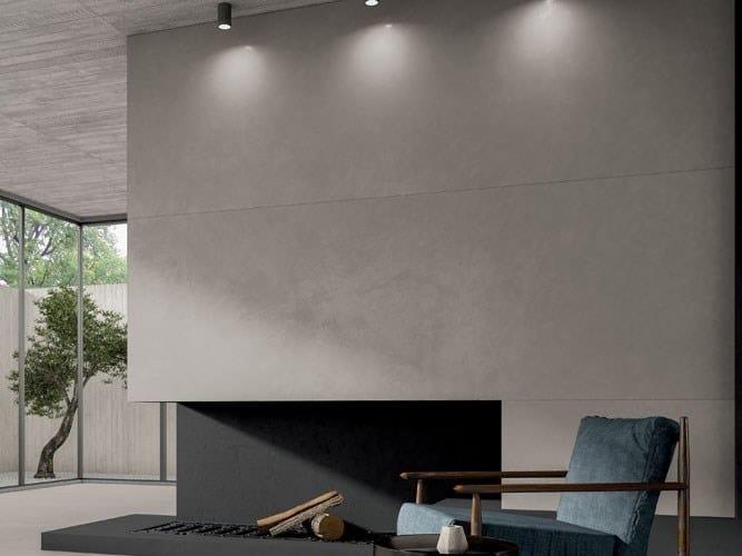 Pavimento/rivestimento in gres laminato effetto cemento CEMENT PROJECT - COLOR-20 CEM by COTTO D'ESTE