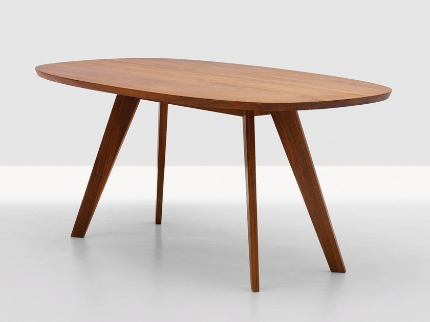 Oval Solid Wood Dining Table Cena Oval Table By Zeitraum