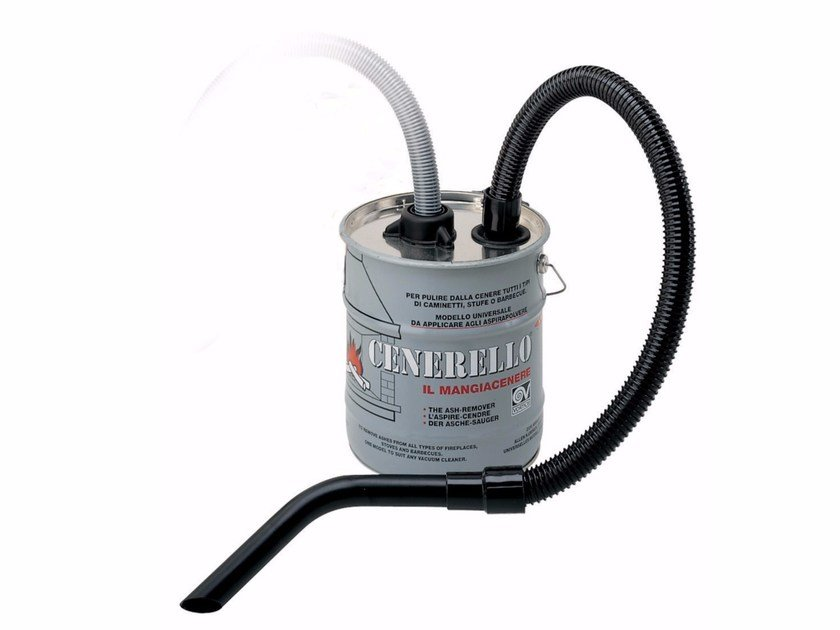 Fireplace ash vacuum CENERELLO® by Vortice