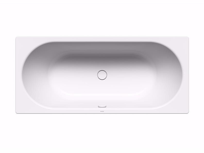 Vasca da bagno ovale in acciaio da incasso centro duo by - Vasca da bagno acciaio prezzi ...