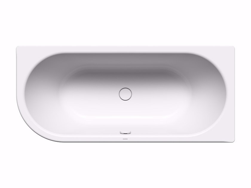 Built-in rectangular steel bathtub CENTRO DUO 1 left by Kaldewei Italia