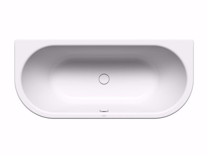 Rectangular enamelled steel bathtub CENTRO DUO 2 by Kaldewei Italia