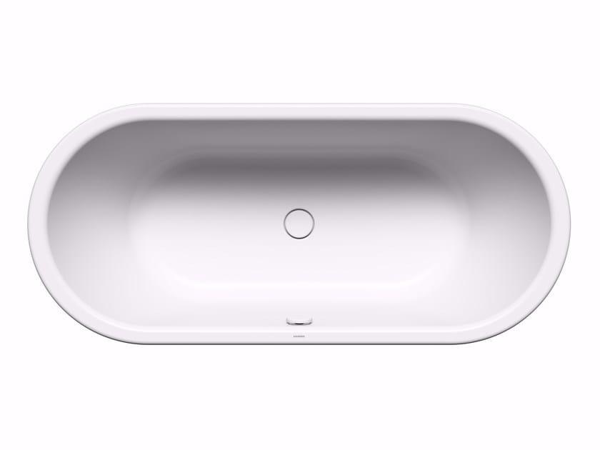Vasca da bagno ovale in acciaio CENTRO DUO OVAL by Kaldewei Italia