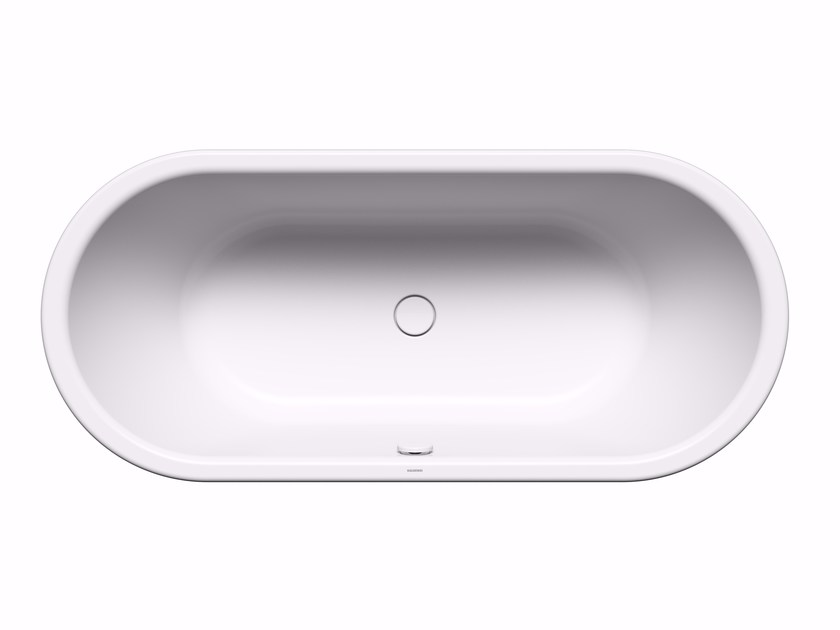 Freestanding oval bathtub CENTRO DUO OVAL with panelling by Kaldewei Italia