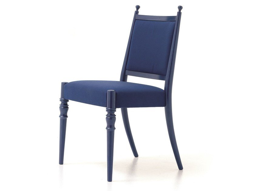 Upholstered fabric chair CENTURY 01 by Very Wood