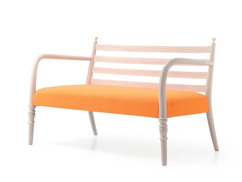 Beech small sofa CENTURY 15 by Very Wood