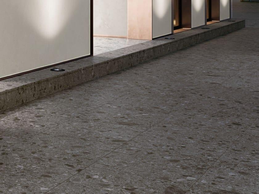 Porcelain stoneware wall/floor tiles with stone effect CEPPO DI GRÉ DARK by Italgraniti