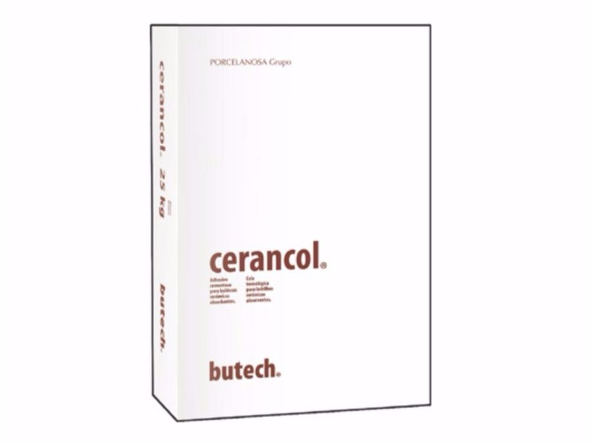 Cement adhesive for flooring and wall tiling CERANCOL by Butech