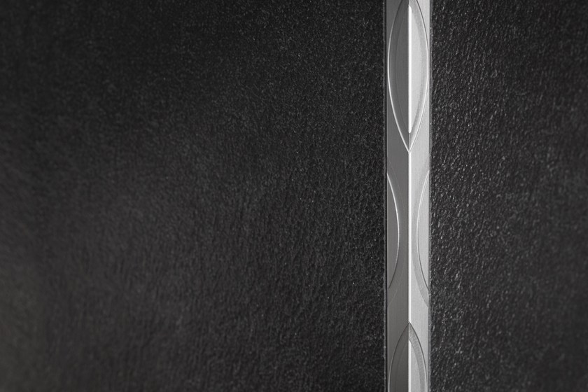 Aluminium edge profile for walls PROANGLE Q OMEGA DESIGN by PROFILPAS