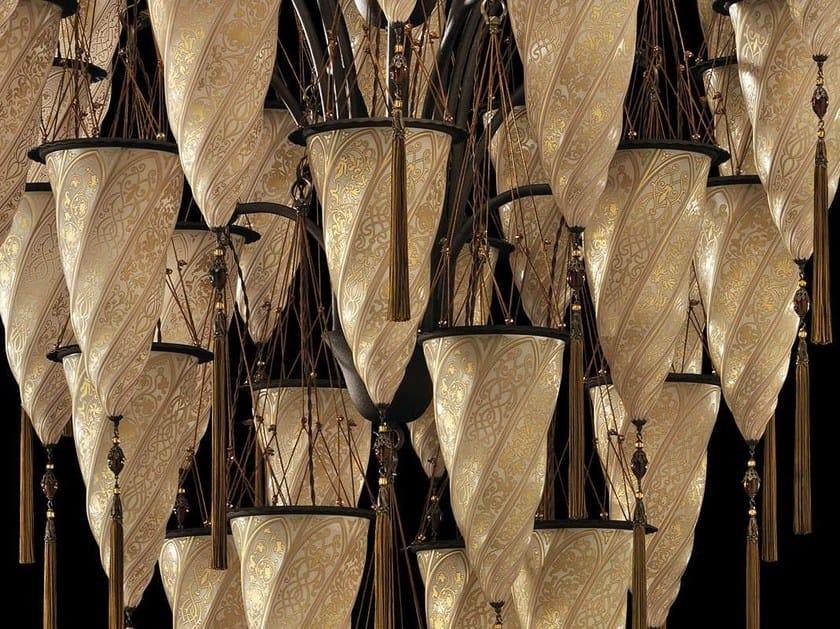 Glass chandelier CESENDELLO CHANDELIER   Glass chandelier by Fortuny