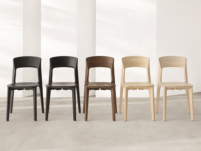 Solid wood chair CETONIA - L | Chair by Passoni