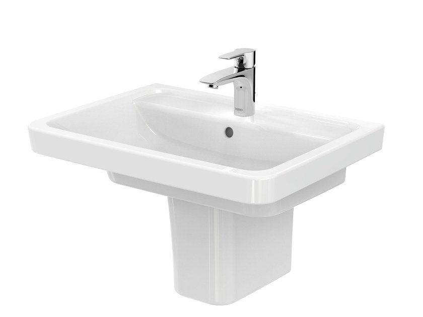 Ceramic washbasin pedestal CF | Ceramic washbasin pedestal by TOTO