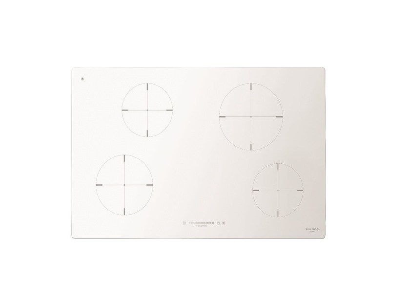 Induction glass ceramic hob CH 804 ID TS | Induction hob by Fulgor Milano
