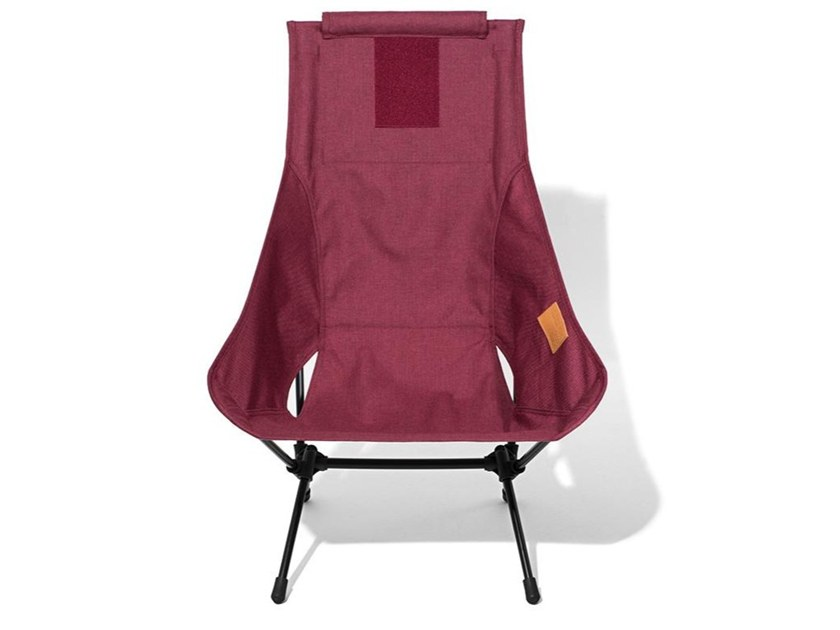 High-back polyester chair CHAIR TWO HOME by Helinox