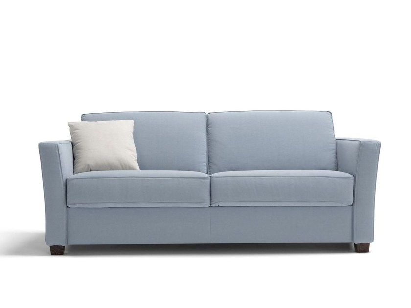 Fabric sofa bed with removable cover CHAMBOURCY by Dienne Salotti