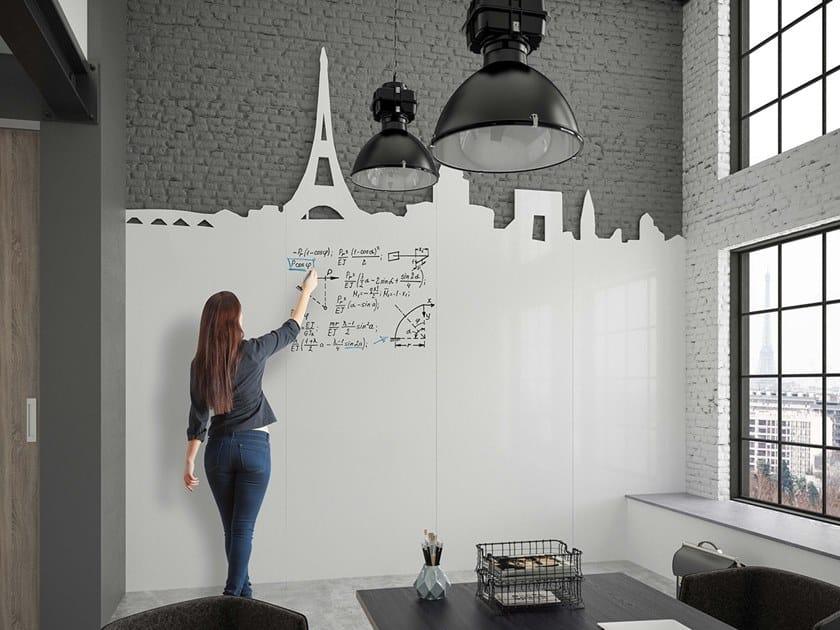 Lavagna per ufficio a parete CHAMELEON WRITING WALL by Chameleon