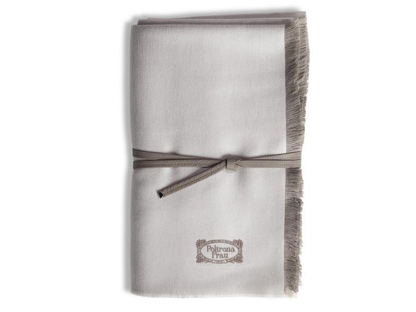 Solid-color silk lap robe CHAMONIX by Poltrona Frau