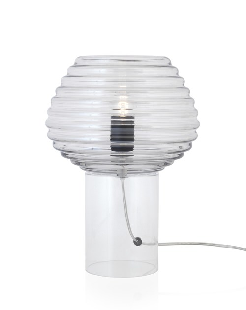 Contemporary style glass table lamp CHAMPI by ENVY