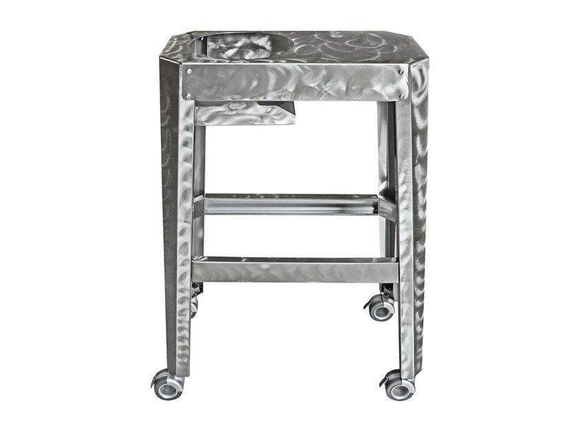 Stainless steel drinks trolley CHAMPO | Drinks trolley by ZANITONI