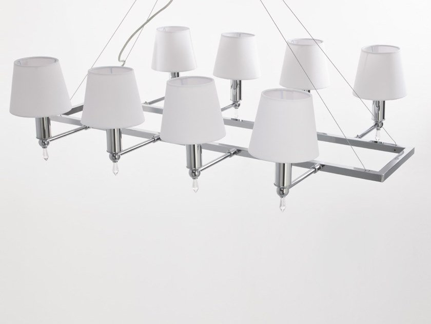 Pendant lamp with crystals CHANEL | Pendant lamp by Aiardini