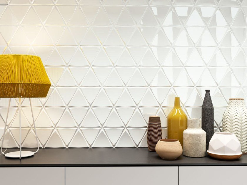 White-paste wall tiles CHANNEL by ZYX