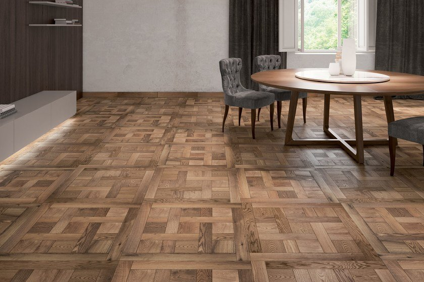 Oak flooring / parquet CHANTILLY | Wooden wall/floor tiles by Alma by Giorio