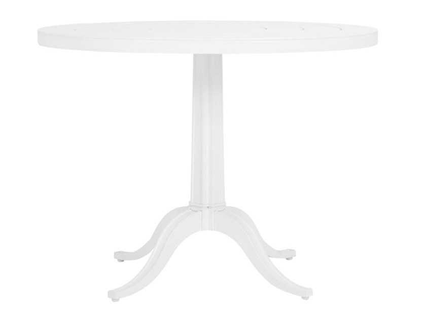 Round aluminium garden table CHARLES | Dining table by JANUS et Cie