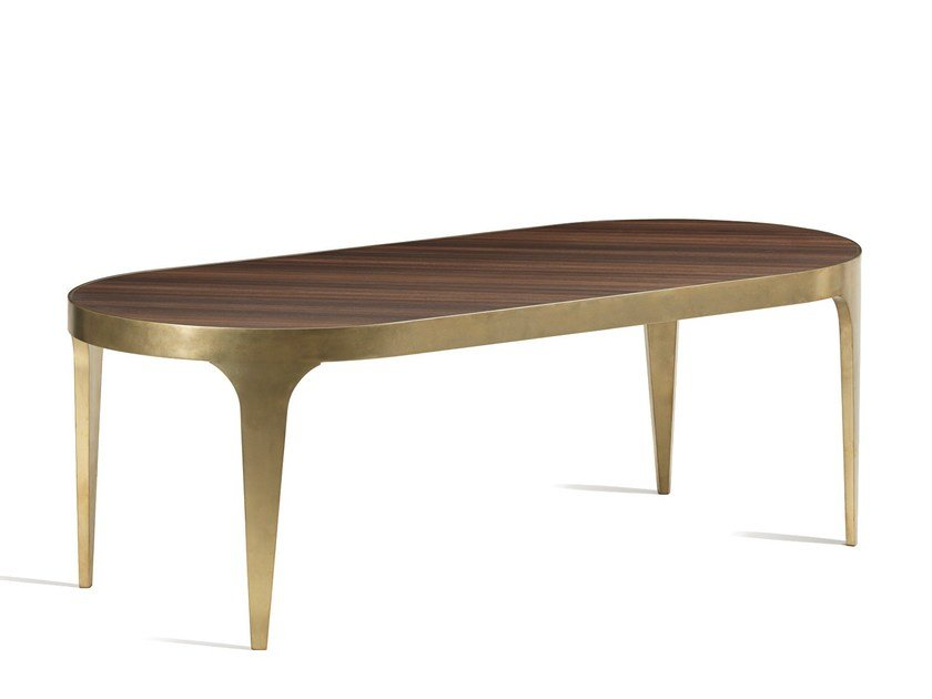 Oval dining table CHARLES | Dining table by L'Origine