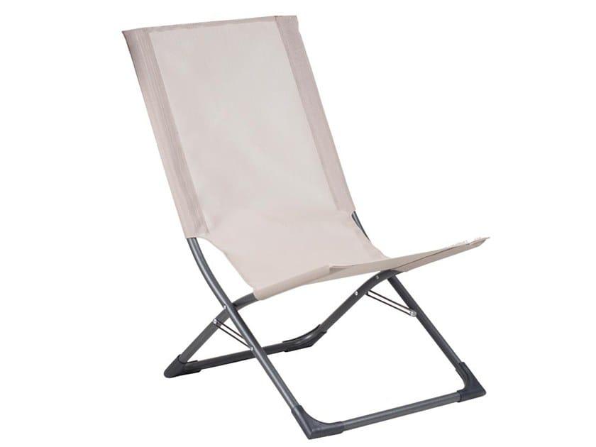 Klappbarer Liegestuhl aus Stahl CHARLOTTE By FIAM