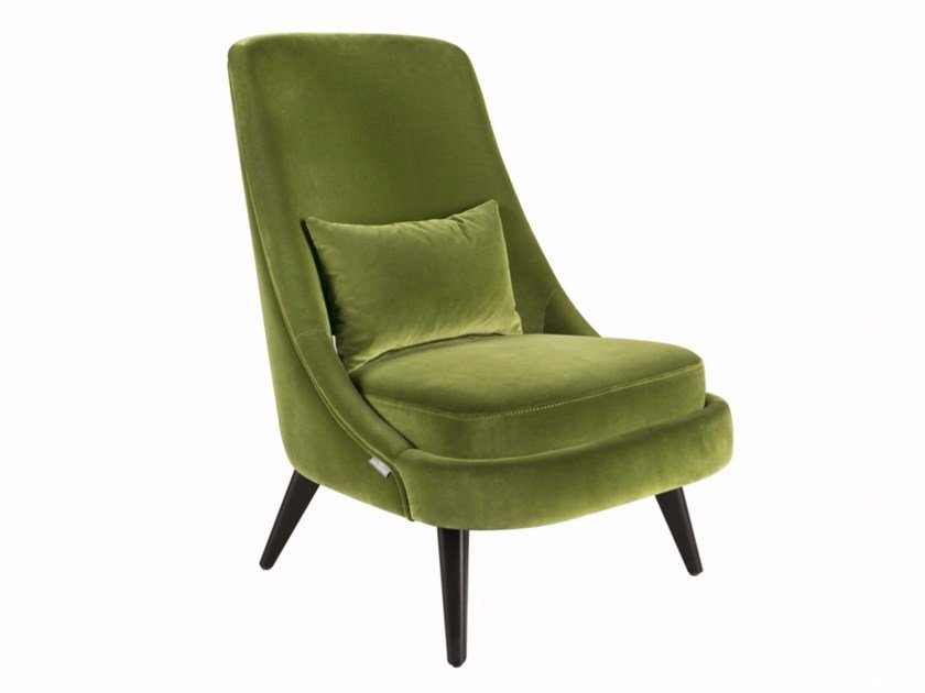 Fabric armchair CHARLOTTE by Hamilton Conte Paris