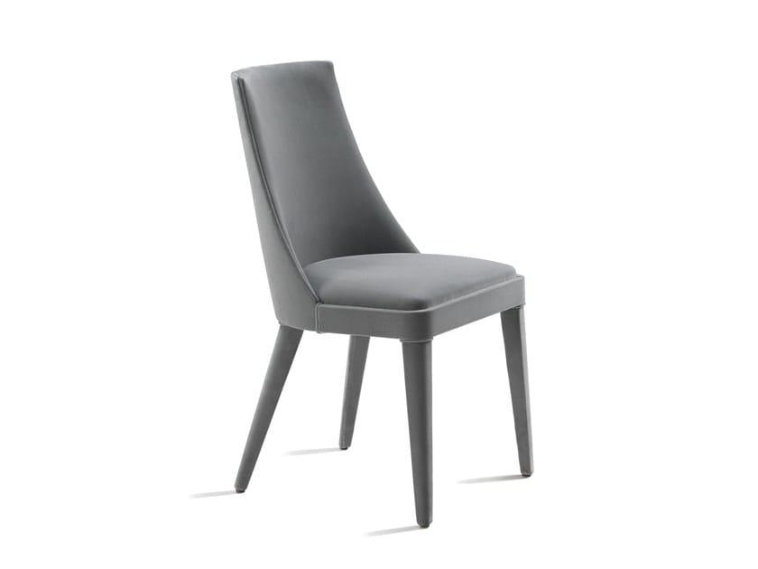 Fabric chair CHARLOTTE by L'Origine