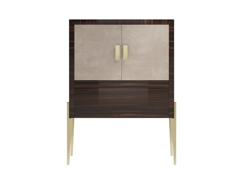Solid wood highboard CHARME 2D by Capital Collection