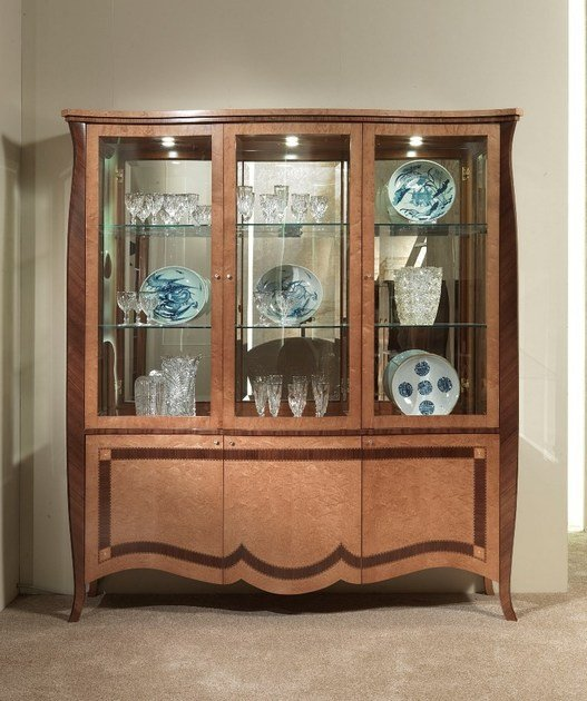 Crystal display cabinet CHARME | Display cabinet by Carpanelli Classic