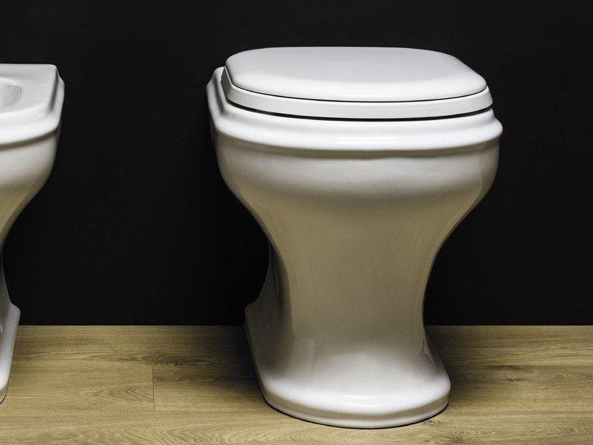 Floor mounted toilet CHARME | Toilet by AZZURRA sanitari