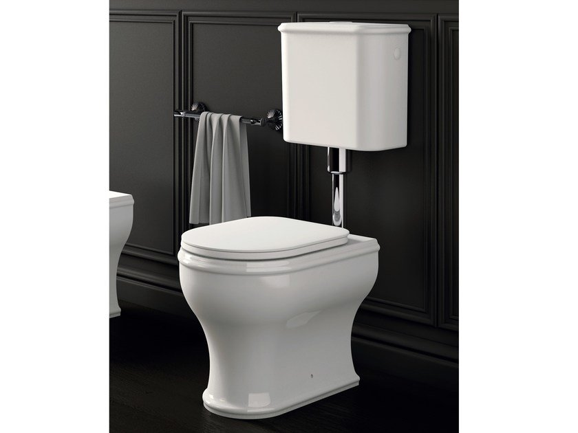 Floor mounted toilet with external cistern CHARME | Toilet with external cistern by AZZURRA sanitari