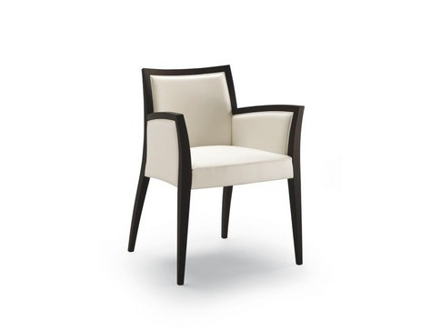 Fabric easy chair with armrests CHAS | Easy chair by Cizeta L'Abbate