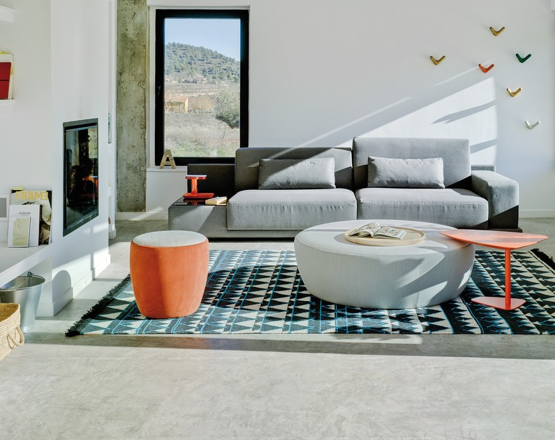 Pouf Coffee Table Chat By Sancal