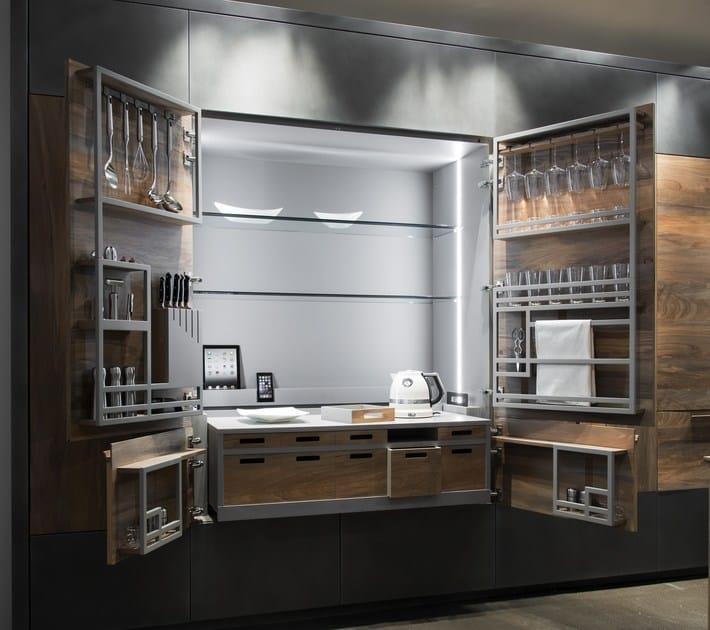 Hideaway kitchen unit chef de cuisine by toncelli cucine - Chef cucine catanzaro ...