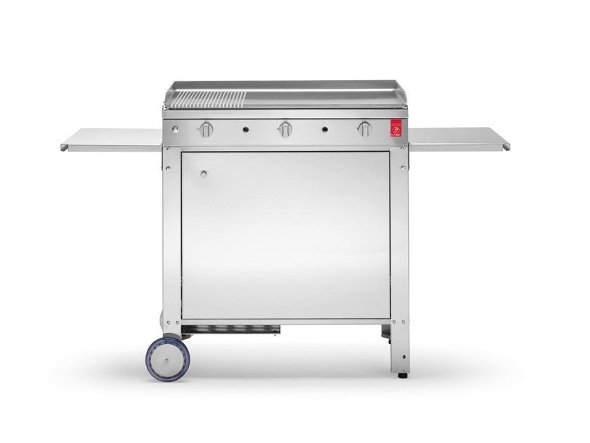 Barbecue a gas in acciaio inox CHEF | Barbecue a gas by PLA.NET Outdoor Cooking